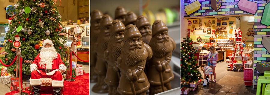 Melba's Chocolates celebrates Christmas in Woodside, Adelaide Hills
