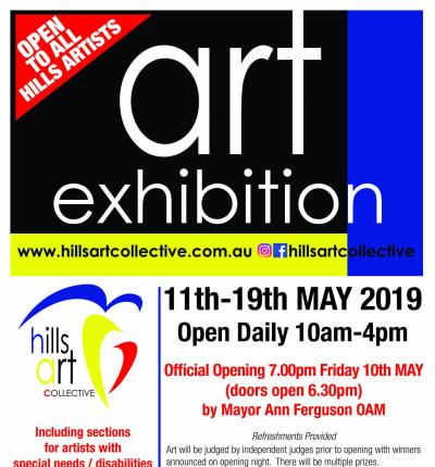 Hills Art Collective- Exhibition