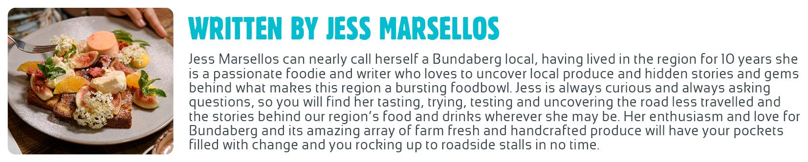 Guest Blogger Bio Jess Marsellos