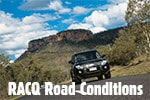 Check the RACQ Road Conditions before you leave