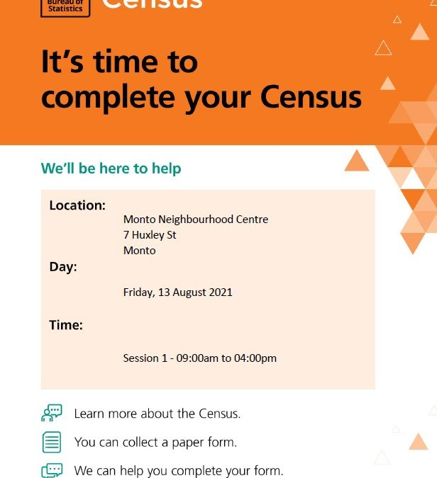 CENSUS – FRIDAY 13 AUGUST 2021