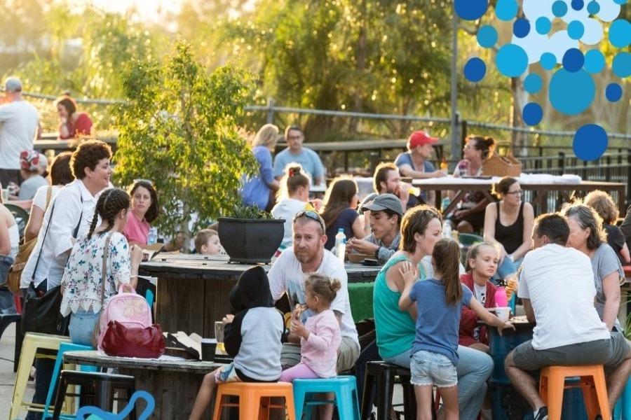 Milbi Festival 2021 - Sunset Eats + Beats at Riverfeast