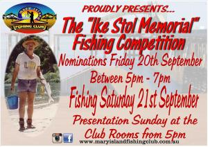 Ike Stol Memorial Fishing Competition
