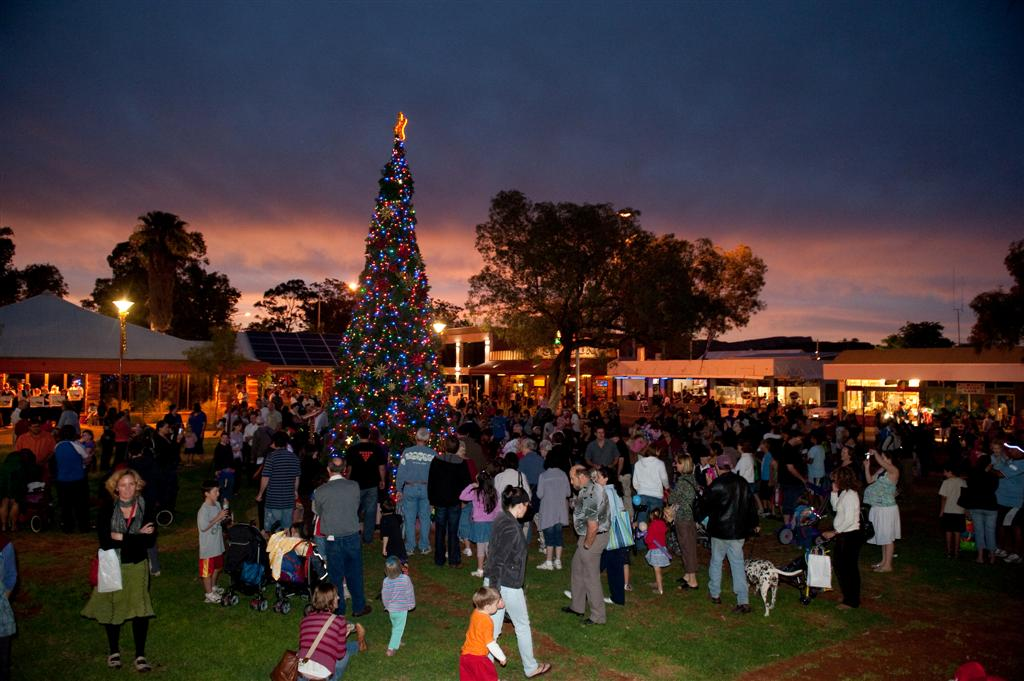 Alice Springs Town Council Night Markets Christmas Carnival image