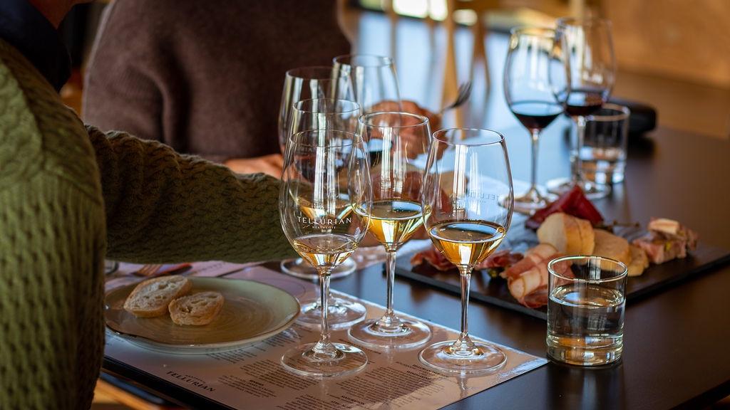 Tellurian wine tasting