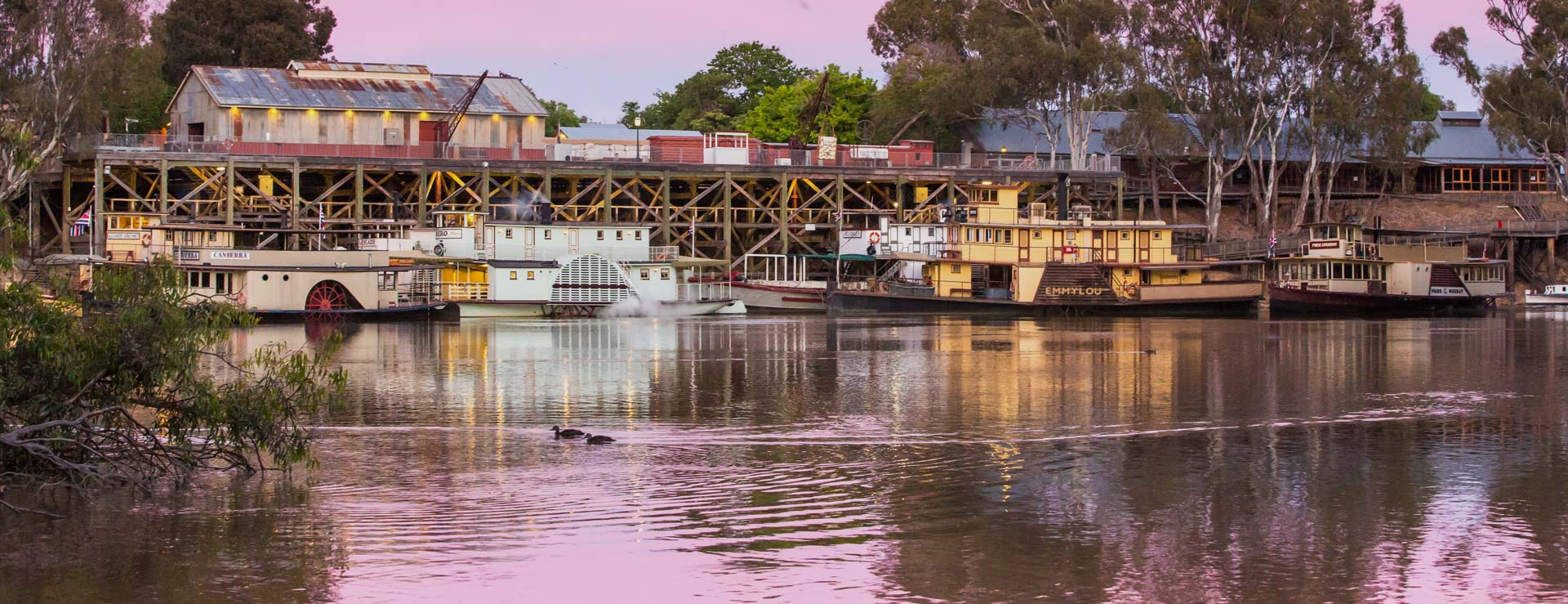 The Port of Echuca offers a fabulous day out for the whole family