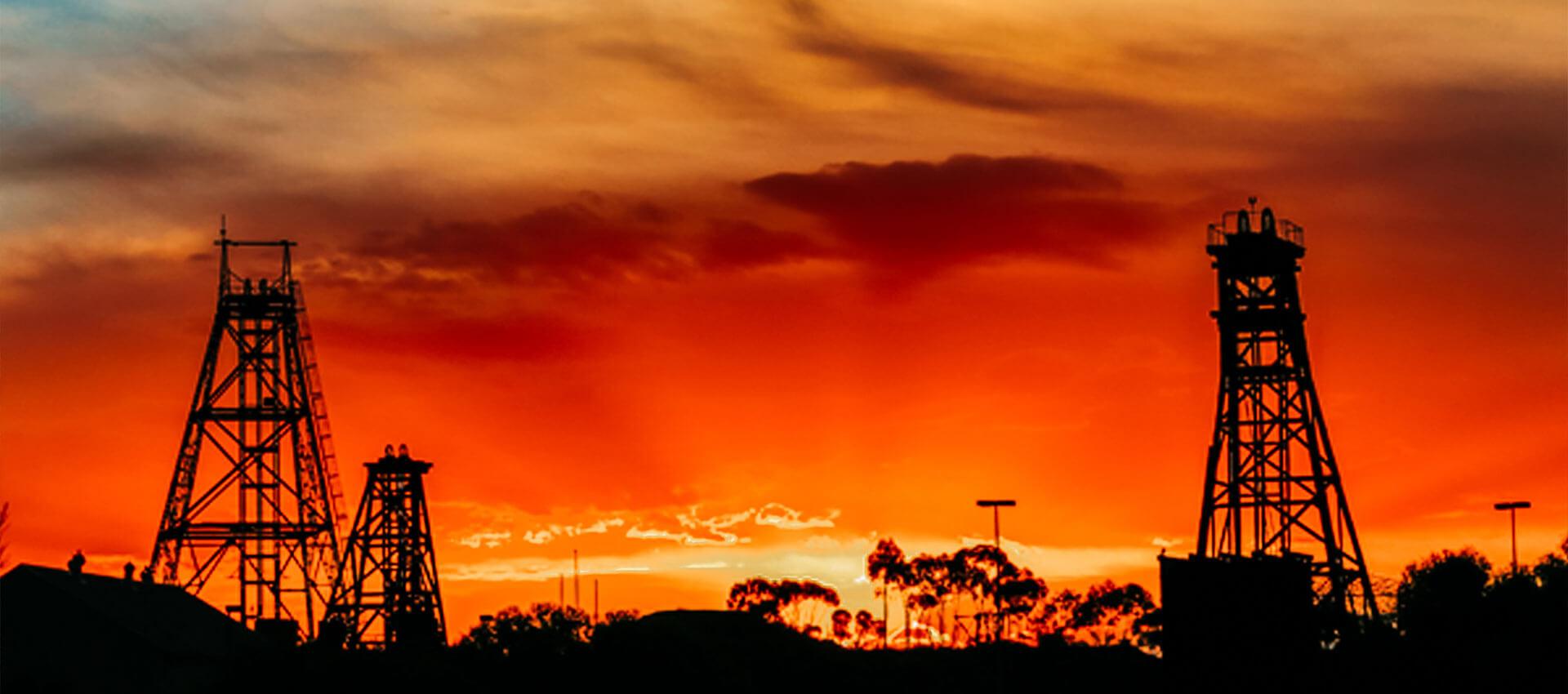 Goldfields Sunset - Photo by Dan Roissetter