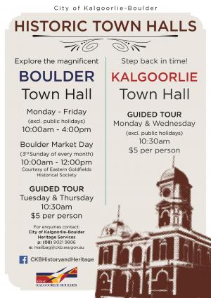 Kalgoorlie Town Hall Guided Tour