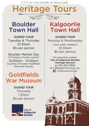 Goldfields War Museum Tour