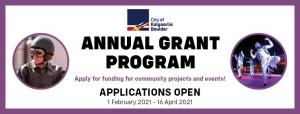 Annual Grant Program - free information sessions