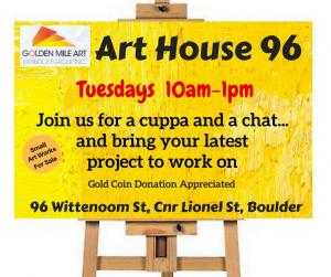 Art House 96 Open House Tuesday