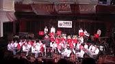 John Calvin Christian College Concert Band performing with Goldfield Brass Band