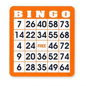 Seniors Bingo