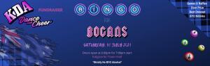Bogans, Bevies & Bingo Night!
