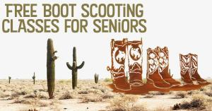Free Bootscooting Classes for Seniors