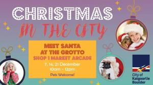 Meet Santa at the Grotto - Christmas in the City