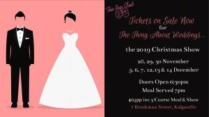 2019 Rep Club Christmas Show: The Thing About Weddings