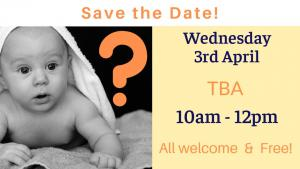 Breastfeeding Association - Save the date - topic to be advised