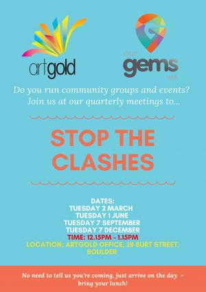 Stop The Clashes Meeting