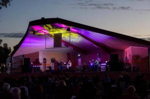 Sunset at the Soundshell - Pete Murray