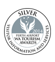 WA Tourism Awards 2014 - Silver Medalist
