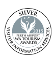 WA Tourism Awards 2015 - Silver Medalist