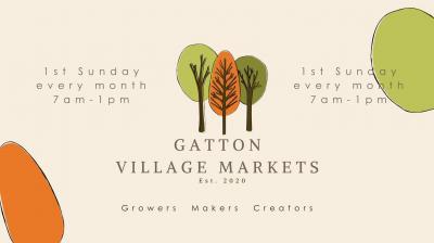Cancelled due to COVID Lockdown - Gatton Village Markets - August 2021