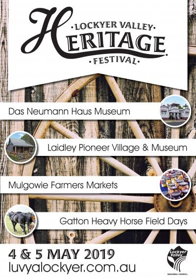 Lockyer Valley Heritage Festival - Laidley Pioneer Village & Museum