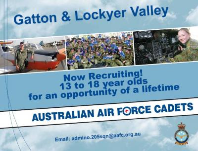Australian Air Force Cadets Now Recruiting 13 to 18 year olds