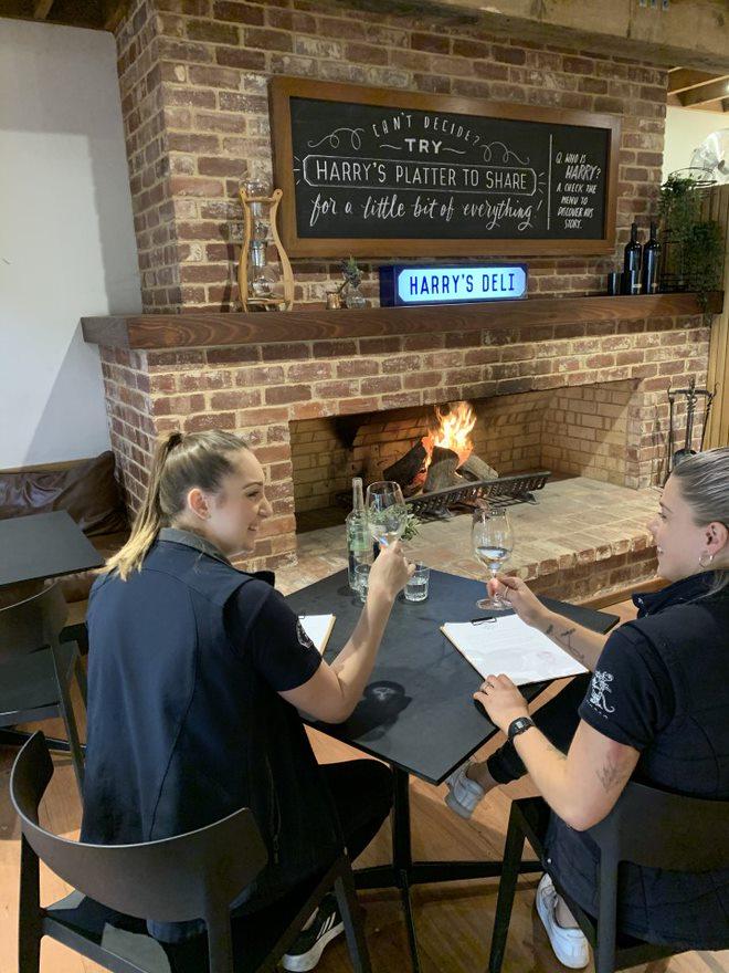 Wirra Wirra Fire Place in McLaren Vale and Fleurieu Coast