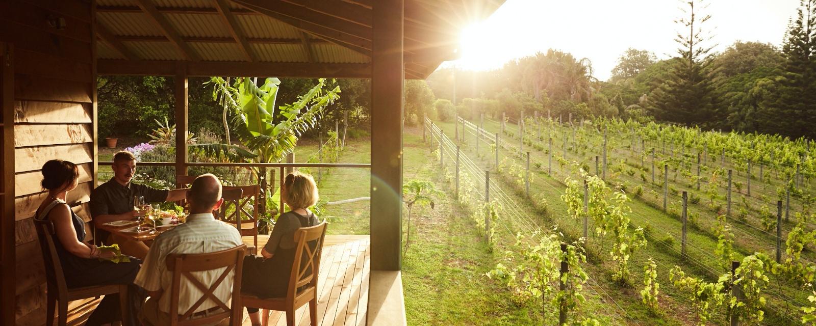 Winery business on Norfolk Island