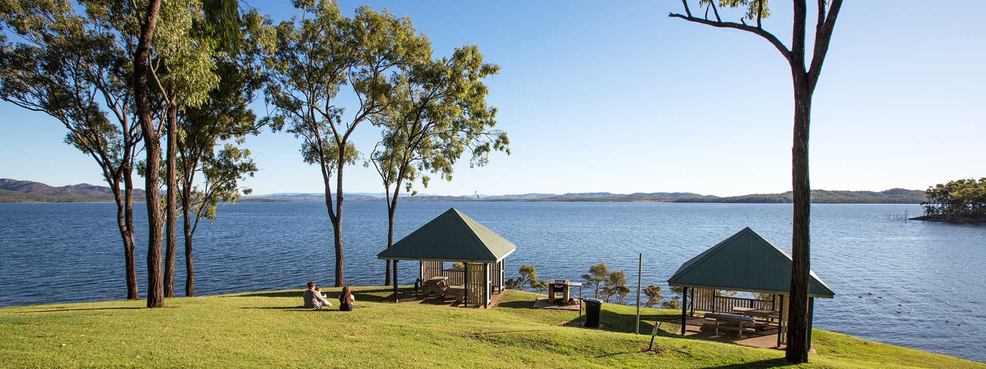 Have the perfect picnic at Awoonga Dam nearby Agnes Water