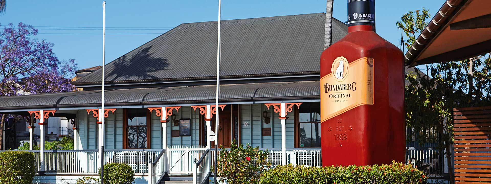 Find out why Bundaberg is famous for its rum at Bundaberg Distillery