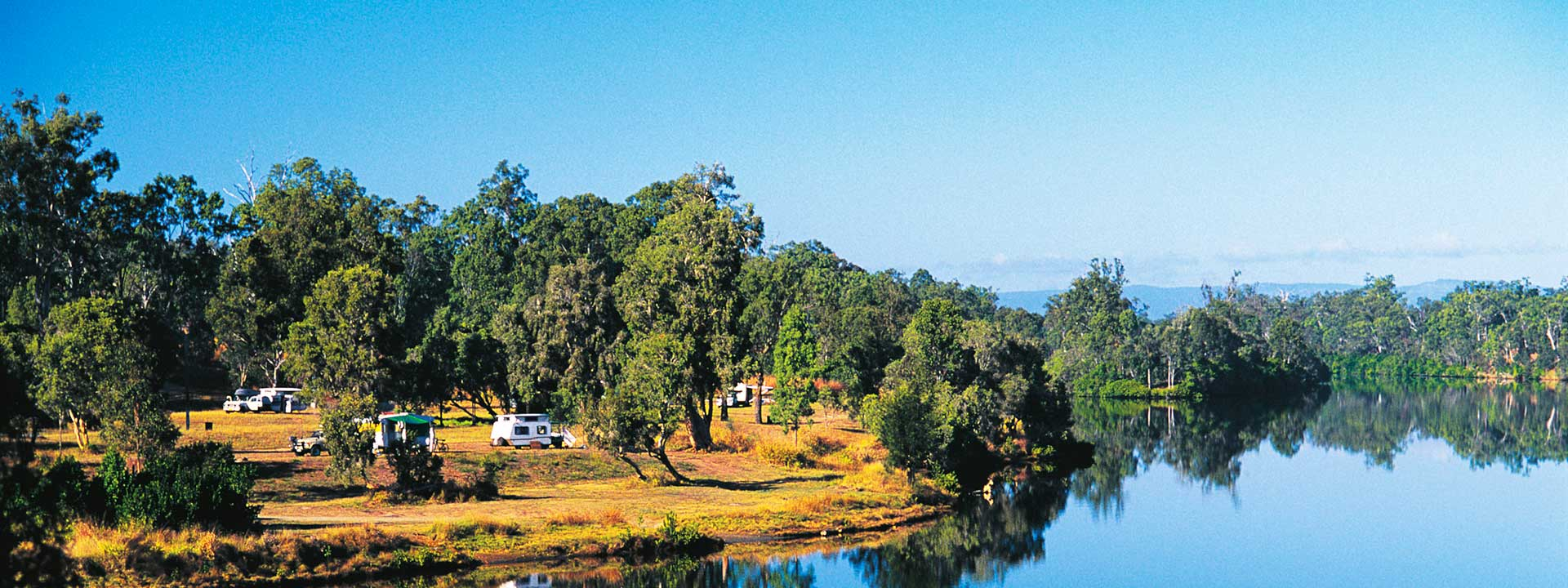 Getaway from the city at the peaceful Calliope River