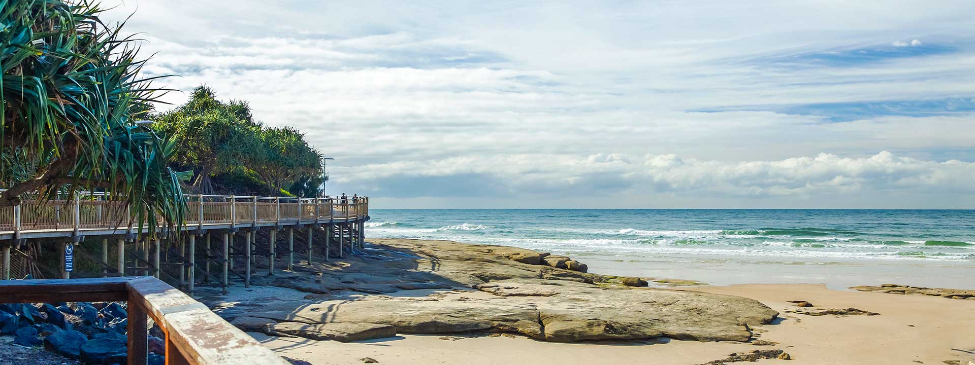 Enjoy the sea breeze along the Caloundra Coastal Walk