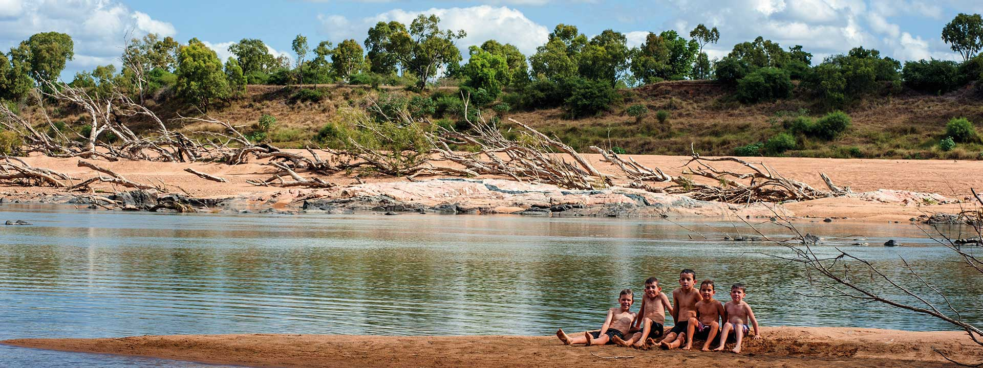 Take a dip in the Burdekin River in Charters Towers