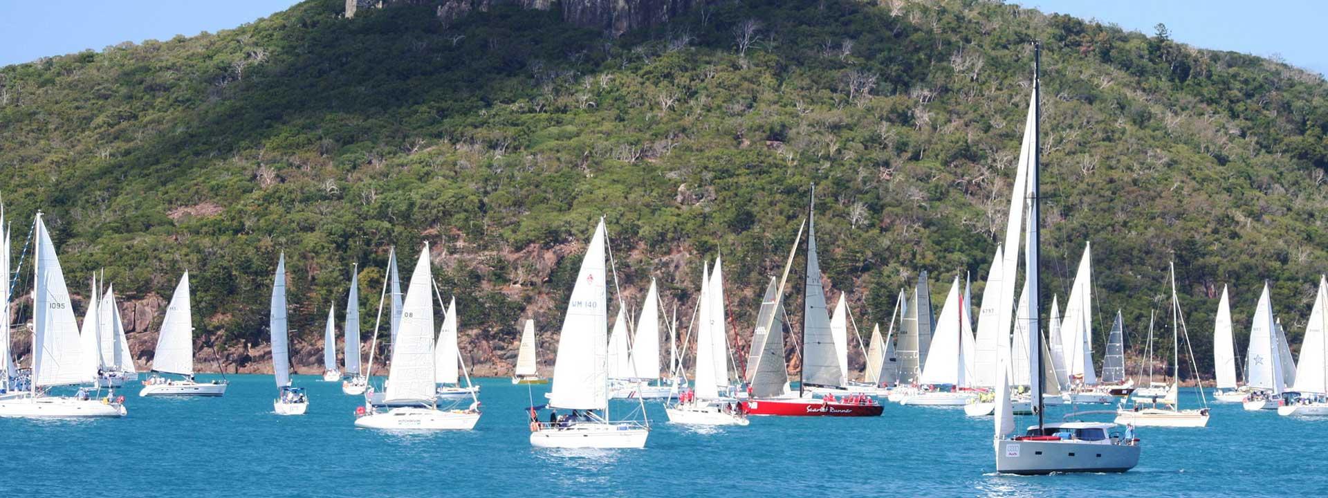 Spectate the Hamilton Island yacht races