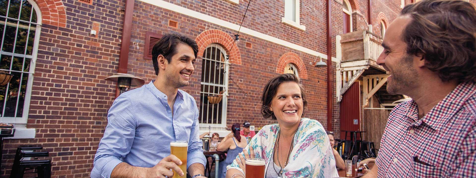 Enjoy a drink in Ipswich