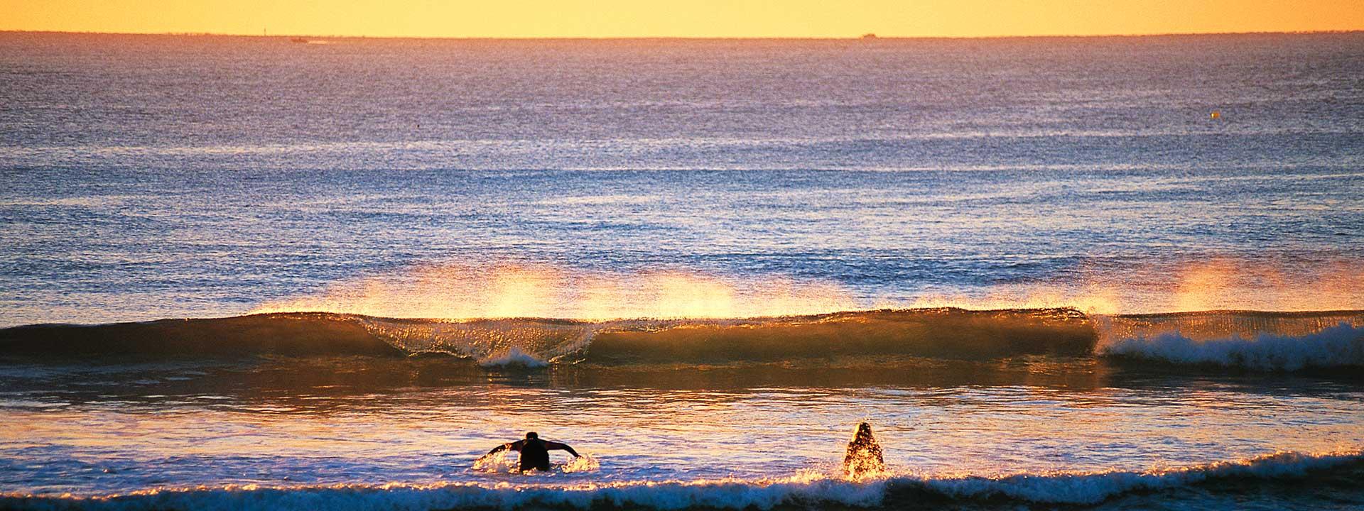 Enjoy an evening swim at Maroochydore Beach