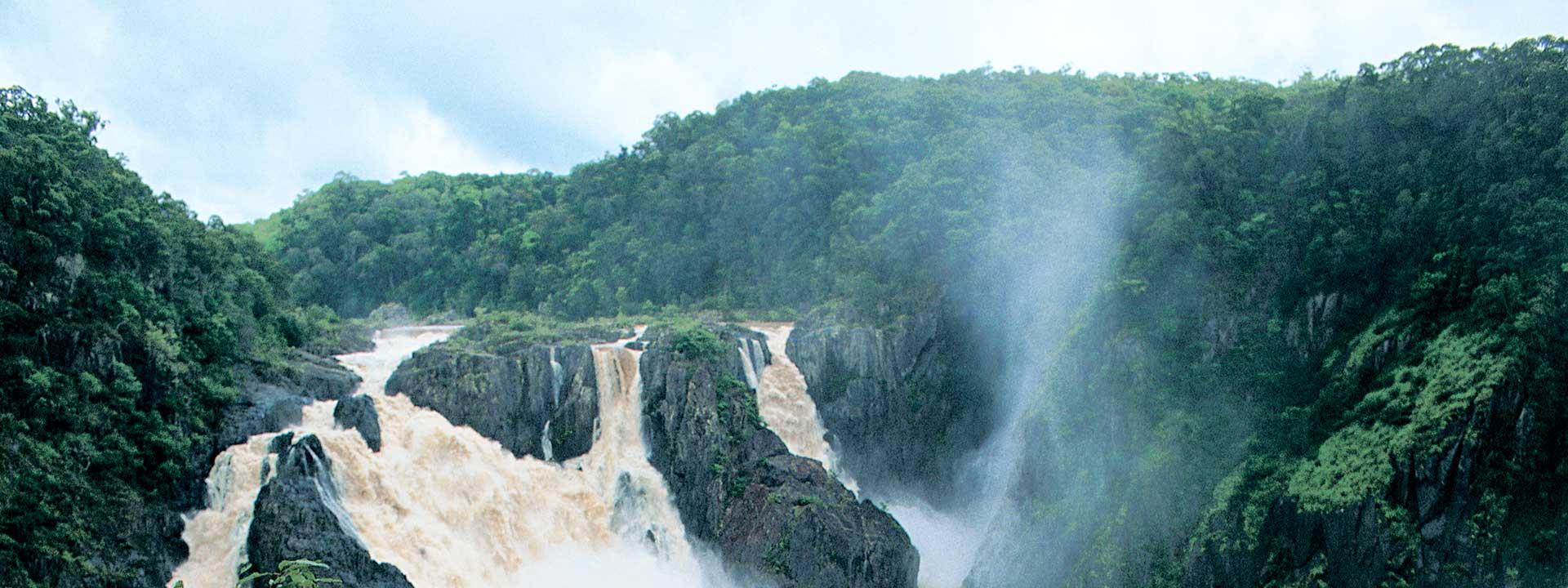 Discover the immense beauty of Barron Falls in Kuranda