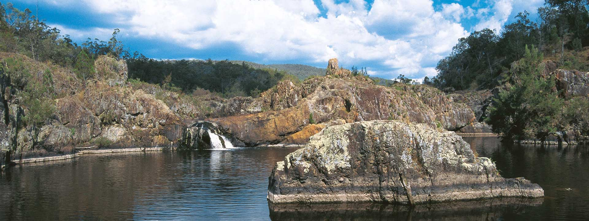 Visit the Severn River Waterfall in Southern Queensland