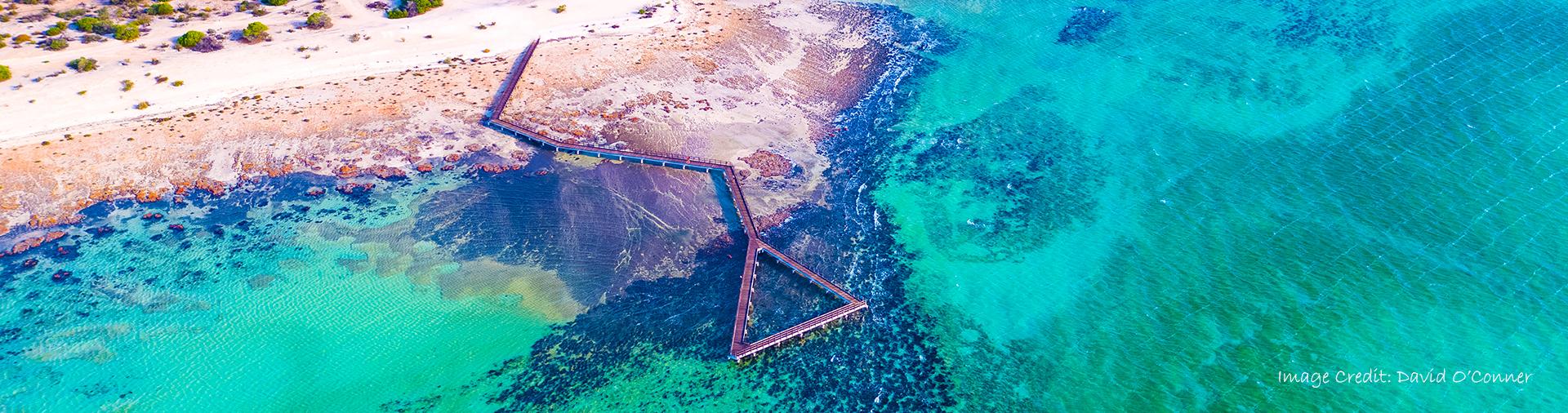 Stromatolities Aerial