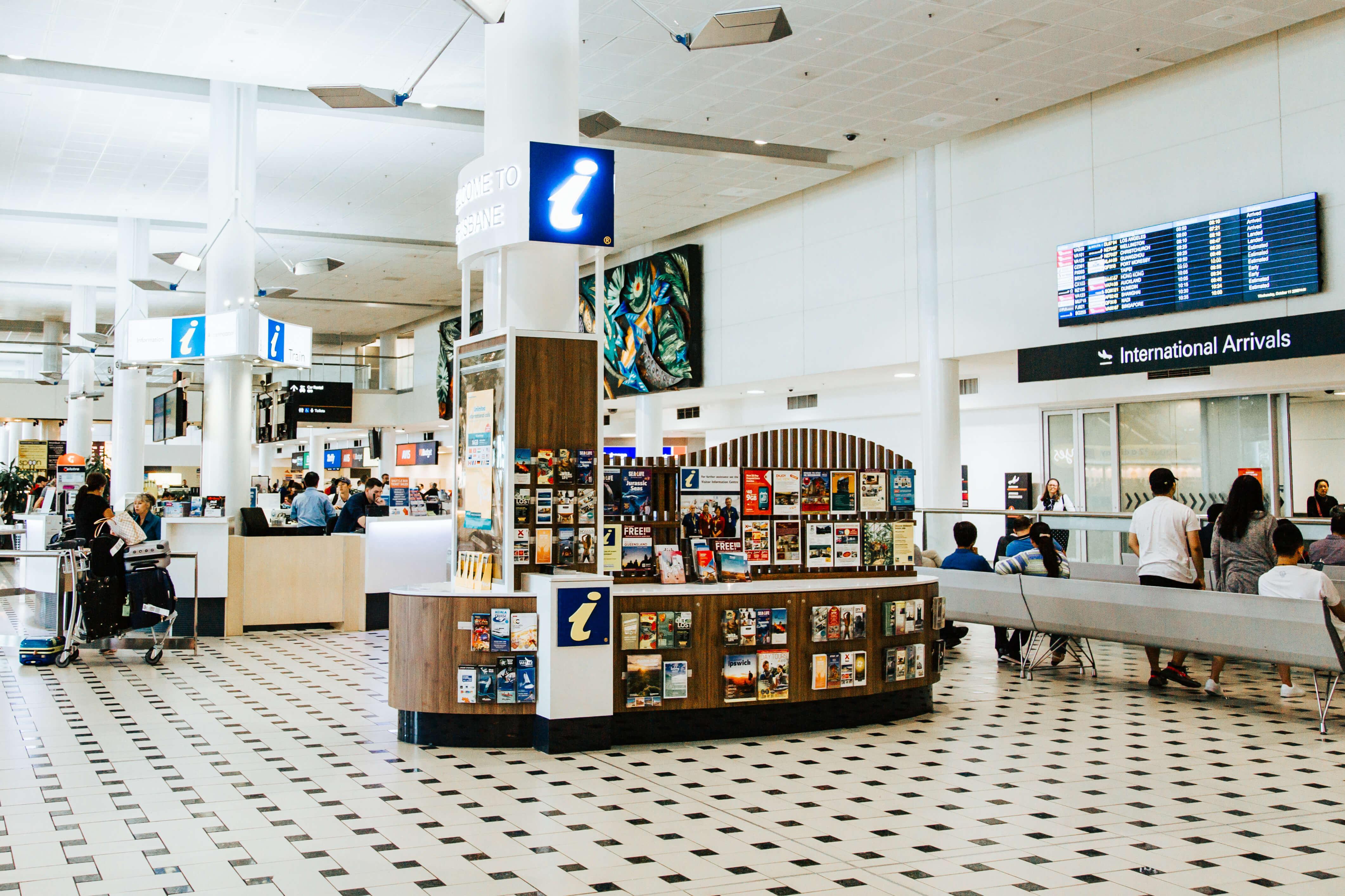 Brisbane International Airport Visitor Information Centre