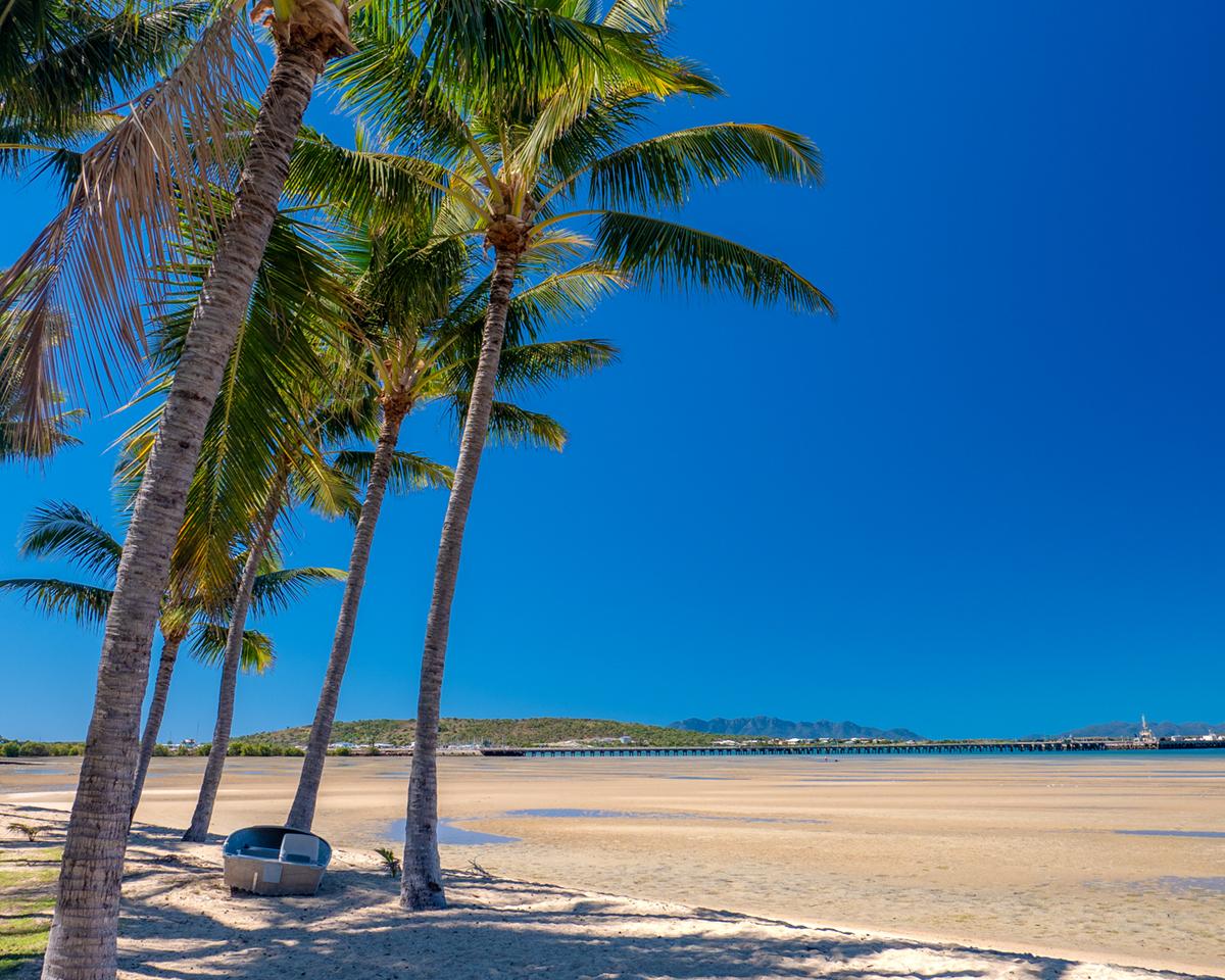 bowen front beach