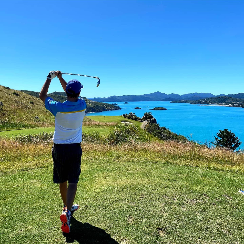 16th hole Hamilton Island Golf Club
