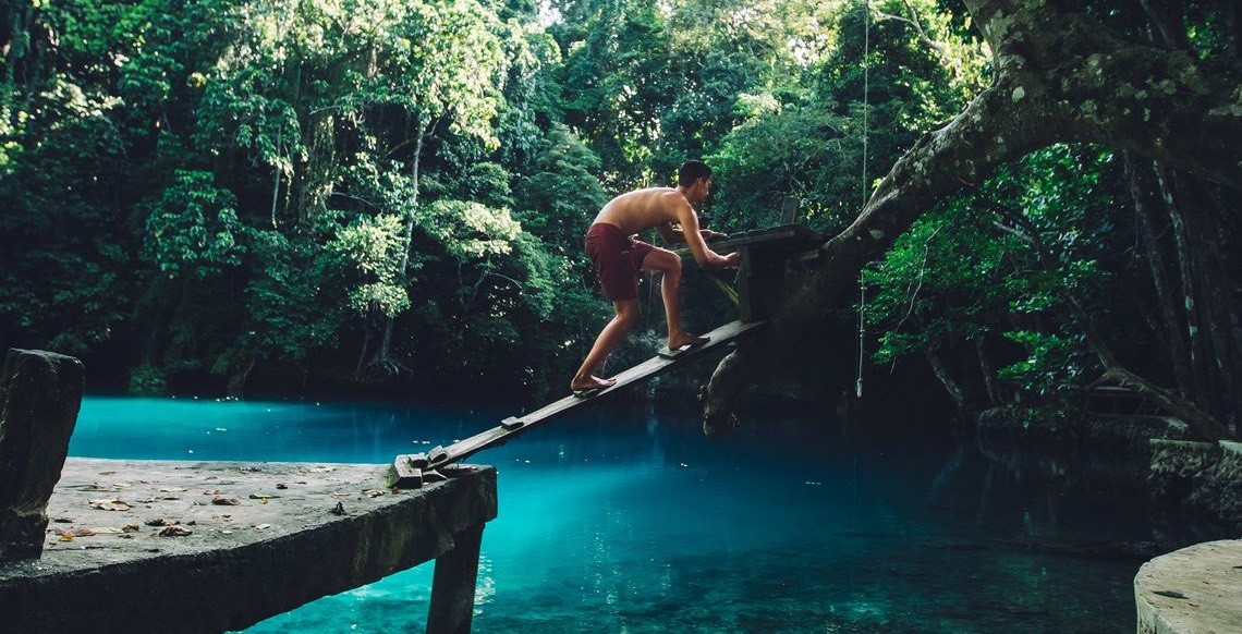 The extraordinary blue holes of Vanuatu.