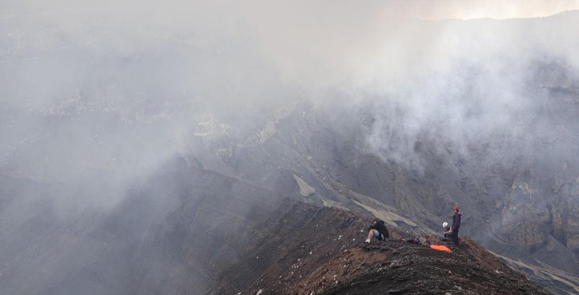 Ambrym Island- Crater Edge - Credit pics. Hoas Blong Volcano - Thomas Boyer