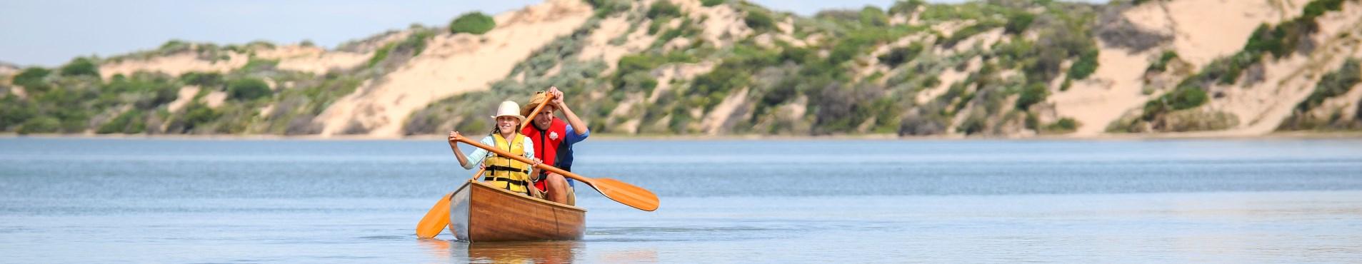 coorong canoe