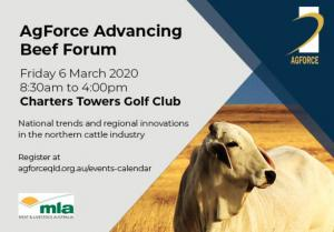 AgForce Advancing Beef Forum