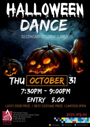Halloween Dance - Secondary Students